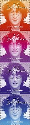 5312-15 John Lennon US Postage Stamps Strip Of 4 Mint/nh Free Shipping