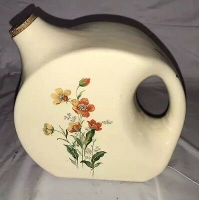 Rare Universal Cambridge USA Pottery Oven Proof Refrigerator Pitcher - Floral