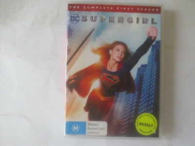 Supergirl The Complete First Season 1 DVD 5-Disc Set R4 #5997