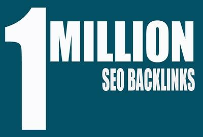 1 Million+ DoFollow SEO Backlinks +2,000 Social Bookmarks +Adult Sites Accepted!