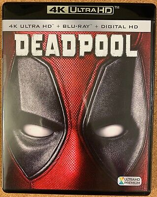 Marvel Deadpool 4K Ultra Hd Blu Ray 2 Disc Set Free World Wide Shipping Buy Itno