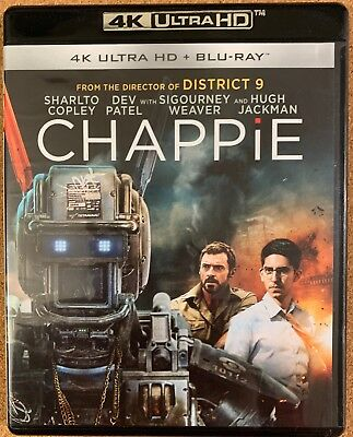 Chappie 4K Ultra Hd Blu Ray 2 Disc Set Free World Wide Shipping Buy It Now Actio