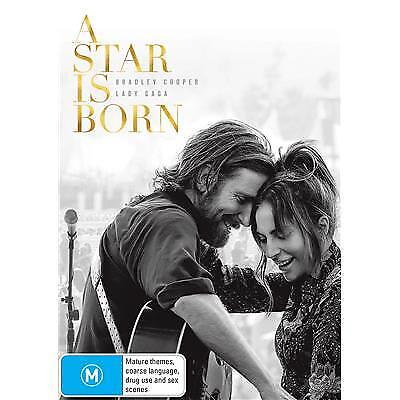 A Star Is Born With Lady Gaga Dvd, Brand New, 2019 Release, Free Post