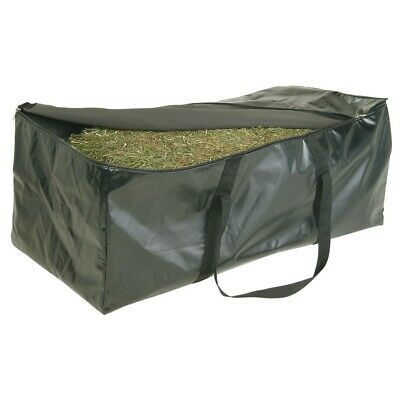 Strong Heavy Duty Full Hay Bale Bag Waterproof For Horses Stable Show Camping