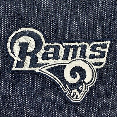 """Los Angeles Rams Jersey Patch Iron On 3"""" X 4"""" Super Bowl 53 Liii #1"""