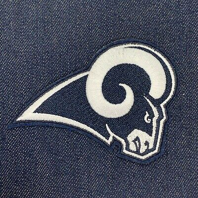 """Los Angeles Rams Jersey Patch Iron On 3"""" X 4"""" Super Bowl 53 Liii #2"""