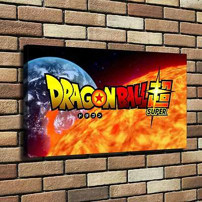 """12""""x22"""" Dragon Ball HD Canvas Print Painting Home Decor room Wall Art Pictures"""