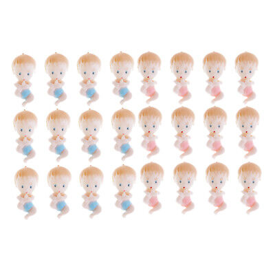 12pcs Pack Mini Baby Dolls Boys Girls Party Favors Baby Shower Decoration