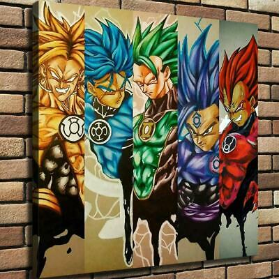 """12""""x12"""" Dragon Ball Z Pictures HD Canvas print Home decor Room Wall Art Painting"""