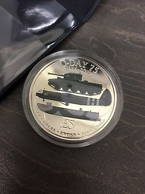 £ 5 D-DAY 75th ANNIVERSARY, 1944 - 2019, Coloured Coin BRAND NEW !!!