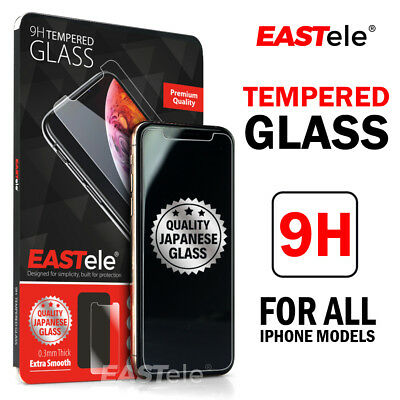 2x GENUINE EASTele Apple iPhone X XS Max XR Tempered Glass Screen Protector