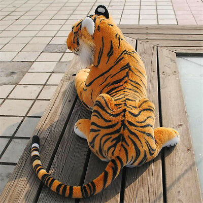 Large 30CM Tiger Cat Animal Soft Plush Doll Pillow Toys Stuff For Baby Kids Gift
