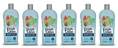 PetAg Fresh'n Clean 2-in-1 Shampoo and Conditioner for Dogs 18 oz Each NEW