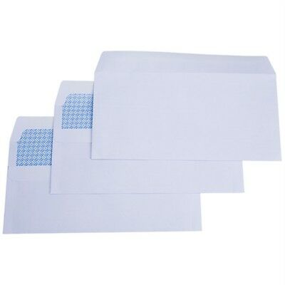 RVFM Dl White Self Seal Wallet Envelope - Box of 1000
