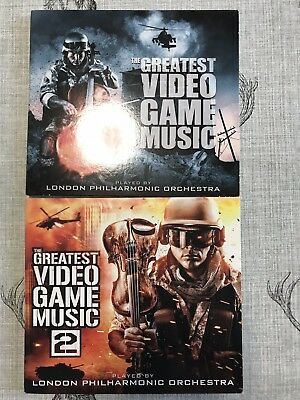 LONDON PHILHARMONIC ORCHESTRA : The Greatest Video Game Music Vol 1 And 2 Cd