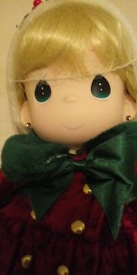 "16"" Precious Moments Doll Star Christmas Classic Limited Edition W/COA"