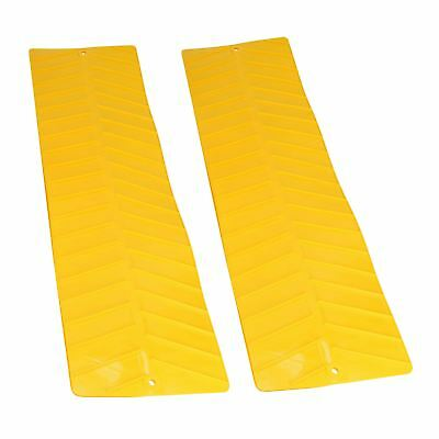 2 x Tyre Wheel Grip Traction Mats Snow Mud Sand Anti-Slip Caravan Flexible