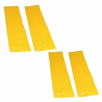 4 x Tyre Wheel Grip Traction Mats Snow Mud Sand Anti-Slip Caravan Flexible