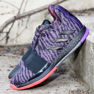 ca50a25124b Adidas Performance Harden Vol. 3 Legend Purple G26813 Basketball Shoes  Sneakers