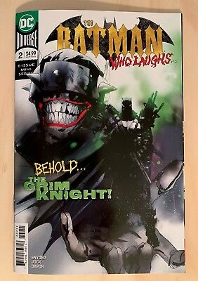 BATMAN WHO LAUGHS 2 Jock Main Cover A 1st Print DC Comics 2019 NM+  SOLD OUT