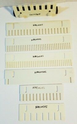 Seven (7) Bio-Rad Gel Electrophoresis Well Combs