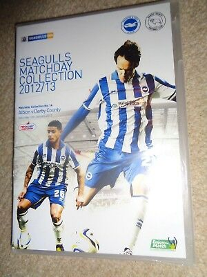 Seagulls DVD Brighton & Hove Albion 2012 13 MATCHDAY COLLECTION vs DERBY COUNTY