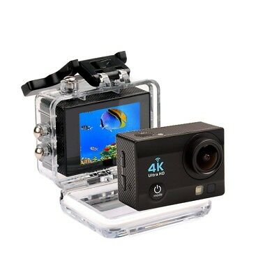 4K Sport Action Camera Ultra HD Wi-Fi Sports Cam 16mp 98ft Waterproof