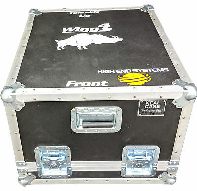 High End Systems 61070012 Hog 4 Wing Road Case