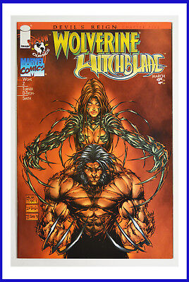 Wolverine Witchblade #1 Image March 1997 1st Printing White Pages NM+ Comic Book