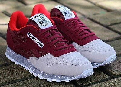 cheap for discount 926af 2907a Reebok Classic Leather SM Burgundy SIZE 11 or 11.5 sz 2016