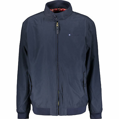 LAMBRETTA Men's HARRINGTON Navy Bomber Jacket, size SMALL