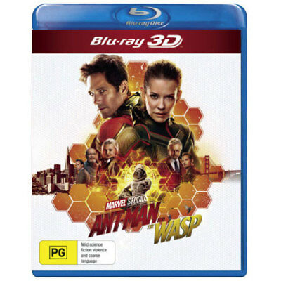 Ant-Man and the Wasp (3D Blu-ray) BLU-RAY NEW