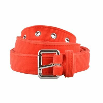 c8a1bd86c24a HOMME ORANGE VELOURS Côtelé Ceinture Us 40 It 100 - EUR 28,02 ...