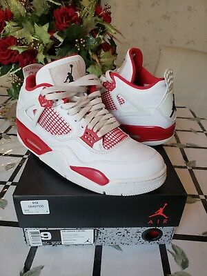 huge selection of 4eefa 35264 Nike Air Jordan 4 Retro Alternate 89 Sz 9 308497 106 Authentic