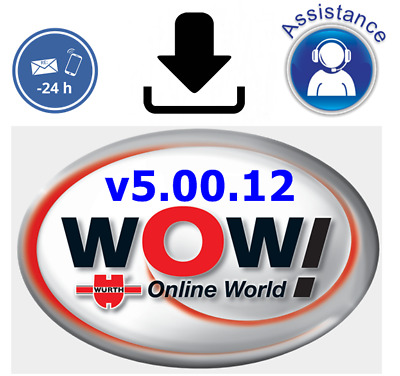 VEHICULE DIAGNOSTIC SOFTWARE WURTH WOW v5.00.12 with KEYGEN