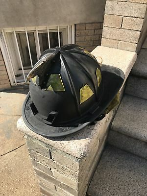 Morning Pride Firefighter Fire Helmet Black DOM 2009
