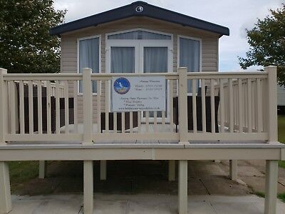 8 Berth Caravan To Rent Haven's Blue Dolphin Filey