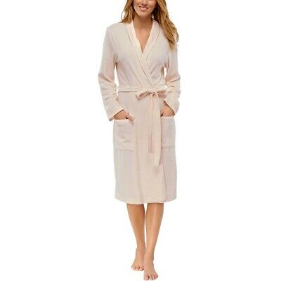 690d4801f4 SCHIESSER Damen Bademantel Morgenmantel Selected Premium rose NEU *UVP 69,95