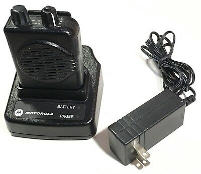 Motorola Minitor V (5) Pager - Charger and Base included! - Fire EMS Police