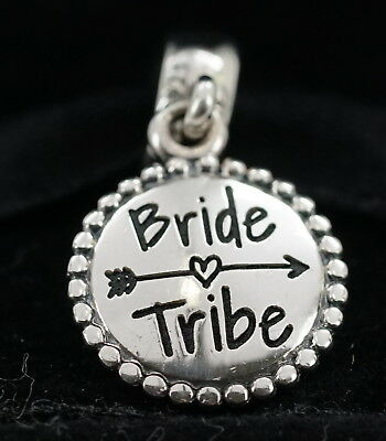 NEW Authentic Pandora Sterling Silver Bride Tribe Dangle Charm ENG791169_31