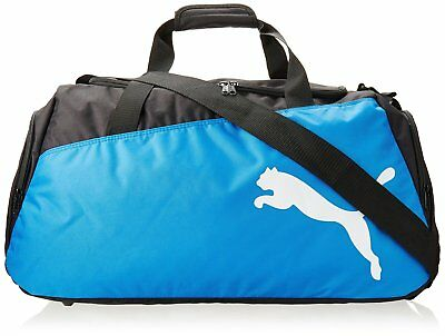PUMA PRO TRAINING Blue Black Medium Sports Gym Duffle Bag  707029 ... 112c3f1941