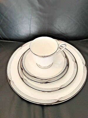 NEW Lenox China ERIN 5 pc Place Setting Cup Saucer Dinner Bread Salad Plate