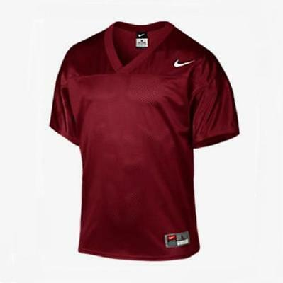 9542ad412 NIKE MENS CORE Practice L Maroon Mesh Football Jersey Shirt Large ...