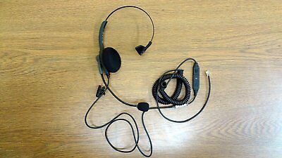 702be200834 USED VXI PASSPORT 10-P TELEPHONE HEADSET 1026P - HEADSET CABLE - 10 ft AND