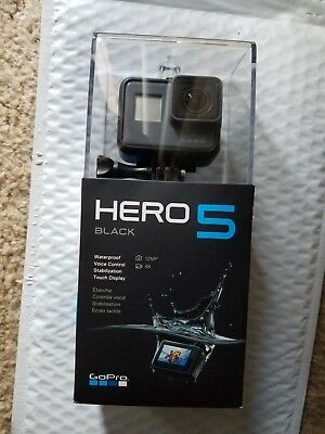 GoPro HERO5 Black 4K Ultra HD Camera CHDHX-501 12MP