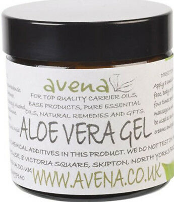 Ethical Avena Aloe Vera Clear Gel - Soothing Cooling Regenerating Skin Care