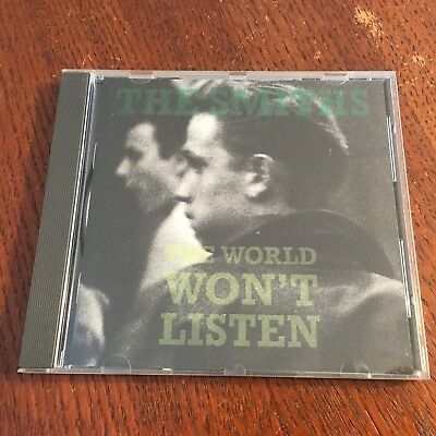 The Smiths 'The World Won't Listen' 1987 UK CD First Pressing Made in France