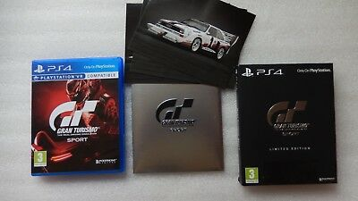 Gran Turismo Sport PS4 Limited Edition for Sony PlayStation 4.