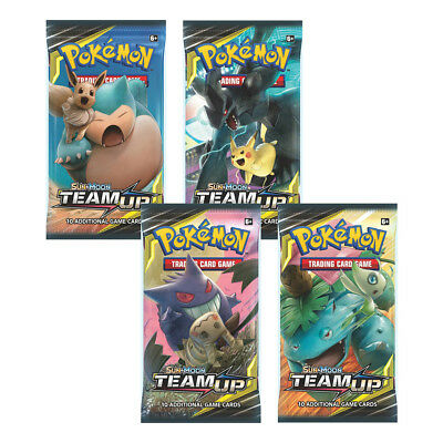 Pokemon TCG: Sun and Moon Team Up Boosters Packs - Sealed - New Packet