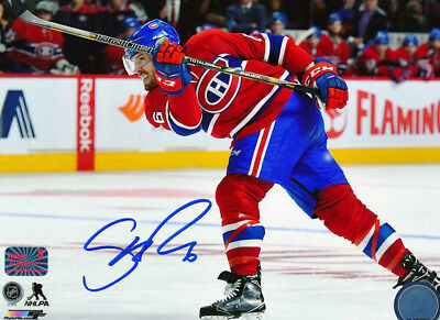 SHEA WEBER AND MAX DOMI  ( MONTREAL CANADIENS)   - 5 x 7 SIGNED REPRINTS